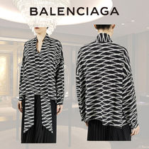 BALENCIAGA Silk Long Sleeves Shirts & Blouses