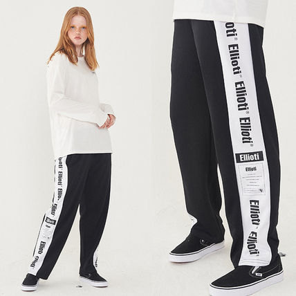 Casual Style Unisex Street Style Long Pants