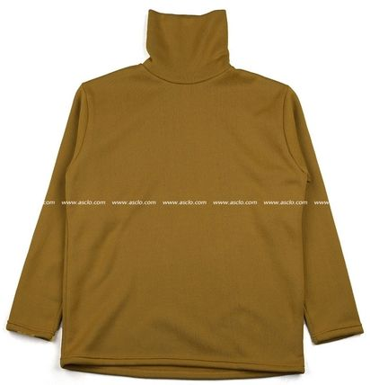 ASCLO Sweaters Pullovers Unisex Long Sleeves Plain Sweaters 17