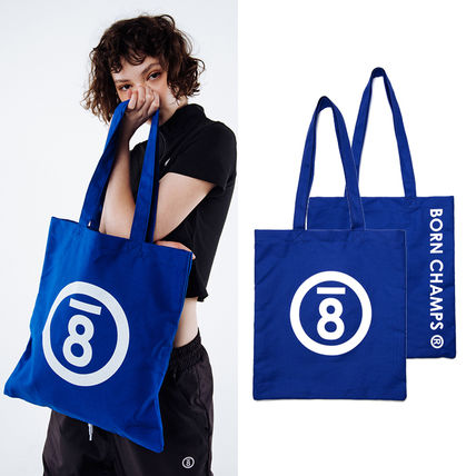 Casual Style Unisex Street Style Plain Totes