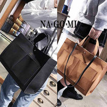 Casual Style Suede 2WAY Handbags