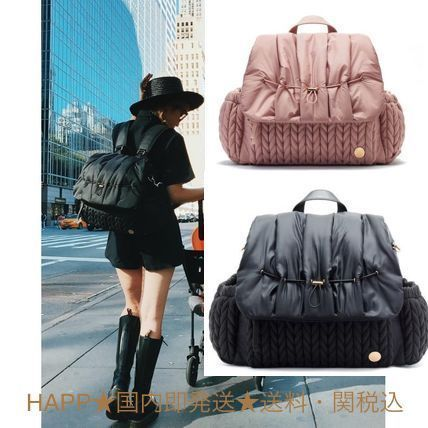 Casual Style Unisex 3WAY Backpacks