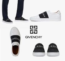 GIVENCHY Blended Fabrics Street Style Bi-color Leather