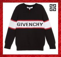 GIVENCHY Long Sleeves Cotton Sweaters