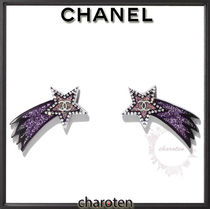 CHANEL ICON Star Casual Style Earrings & Piercings