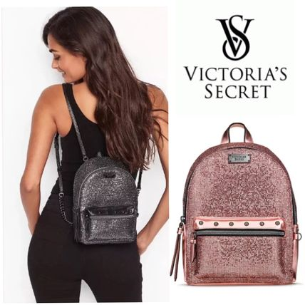 Casual Style Blended Fabrics Backpacks