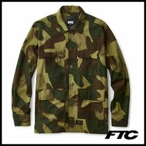 FTC Camouflage Long Sleeves Cotton Shirts