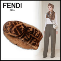 FENDI Elegant Style Hair Accessories