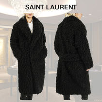 Saint Laurent Faux Fur Coats