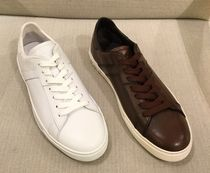 TOD'S Street Style Plain Leather Sneakers