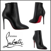 Christian Louboutin Casual Style Street Style Plain Leather Pin Heels