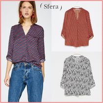 Sfera Casual Style Plain Shirts & Blouses