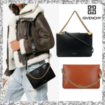 GIVENCHY CROSS3 Leather Shoulder Bags
