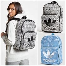 adidas Zebra Patterns Casual Style Unisex Street Style A4 Backpacks 6d8f6f8e01e3d