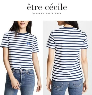 Stripes Short Sleeves T-Shirts