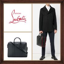 Christian Louboutin A4 2WAY Plain Leather Business & Briefcases
