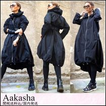 Aakasha Blended Fabrics Plain Medium Handmade Down Jackets