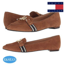 Tommy Hilfiger Platform Round Toe Casual Style Plain Lace-Up Shoes