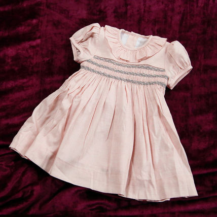 Handmade Baby Girl Dresses & Rompers