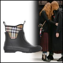 Burberry Other Check Patterns Wedge Boots