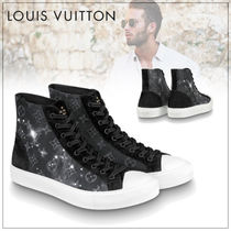 Louis Vuitton Monogram Street Style Plain Sneakers