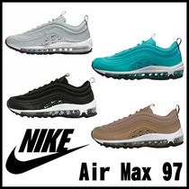 Nike AIR MAX 97 Casual Style Unisex Street Style Bi-color Low-Top Sneakers 4813ef03e