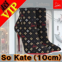 Christian Louboutin So Kate Blended Fabrics Pin Heels Elegant Style