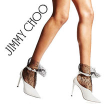 Jimmy Choo Plain Leather Elegant Style Ankle & Booties Boots