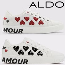 ALDO Flower Patterns Rubber Sole Lace-up Casual Style Unisex