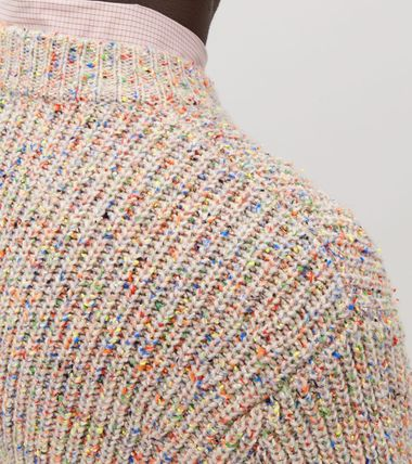 COS Knits & Sweaters Crew Neck Wool Long Sleeves Plain Knits & Sweaters 3