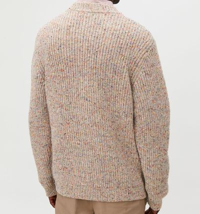 COS Knits & Sweaters Crew Neck Wool Long Sleeves Plain Knits & Sweaters 4