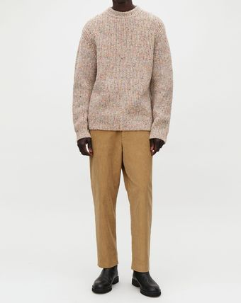 COS Knits & Sweaters Crew Neck Wool Long Sleeves Plain Knits & Sweaters 5
