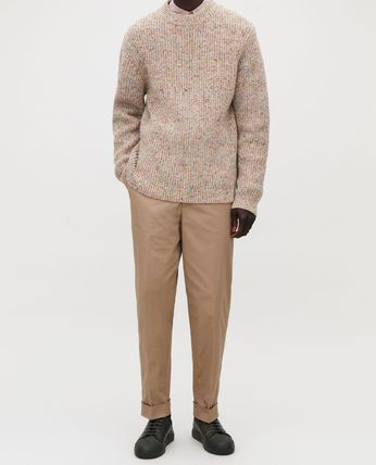 COS Knits & Sweaters Crew Neck Wool Long Sleeves Plain Knits & Sweaters 6