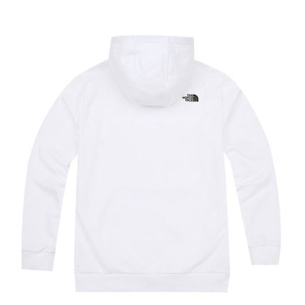 THE NORTH FACE Hoodies Unisex Street Style Long Sleeves Plain Cotton Hoodies 5
