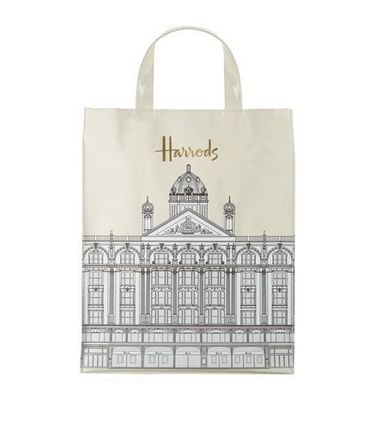 Casual Style Unisex A4 PVC Clothing Totes