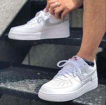 Nike AIR FORCE 1 Street Style Leather Sneakers