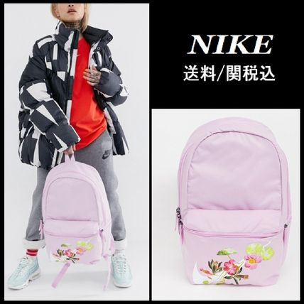 Nike 2019 SS Flower Patterns Casual Style Backpacks by sabaisabai ... a1e4d9d414243
