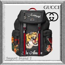 GUCCI Monogram Backpacks