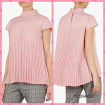 TED BAKER Plain Short Sleeves Shirts & Blouses