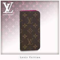 Louis Vuitton MONOGRAM Monogram Unisex Bi-color Smart Phone Cases