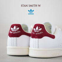adidas STAN SMITH Street Style Plain Leather Sneakers