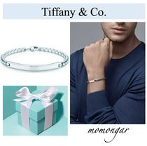 Tiffany & Co Unisex Plain Silver Bracelets