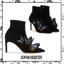 SOPHIA WEBSTER Suede Other Animal Patterns Pin Heels Party Style