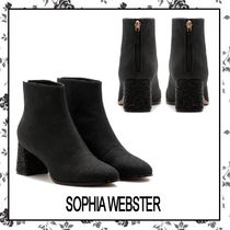 SOPHIA WEBSTER Suede Other Animal Patterns Block Heels Party Style
