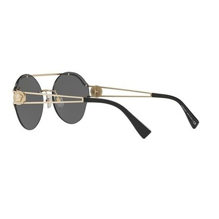 0253187fd346 VERSACE Unisex Round Sunglasses by MoodyBlues - BUYMA