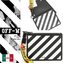 Off-White Clutches