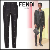 FENDI Slax Pants Cotton Slacks Pants