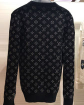 Louis Vuitton Crew Neck Long Sleeves Knits & Sweaters