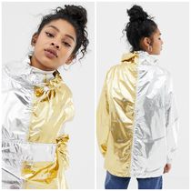 Nike Casual Style Street Style Bi-color Jackets