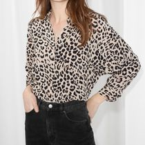 & Other Stories Zebra Patterns Leopard Patterns Casual Style Long Sleeves